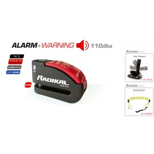 RK15 DISC-LOCK ALARM 110 DBA