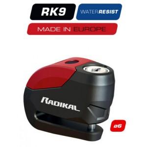 RADIKAL RK9 DISC-LOCK ALARM 120 dba