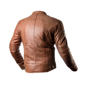 SHIMA ΔΕΡΜΑΤΙΝΟ JACKET HUNTER BROWN