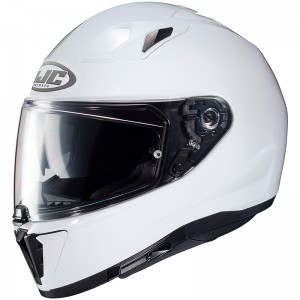 HJC i70 PEARL WHITE