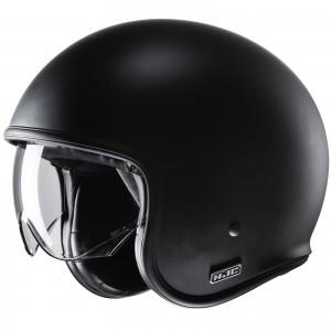 HJC V30 SEMI FLAT BLACK
