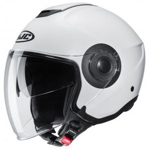 HJC i40 PEARL WHITE