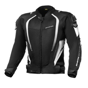 SHIMA JACKET MESH PRO BLACK & WHITE
