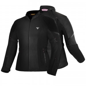 SHIMA JET LADIES JACKET BLACK