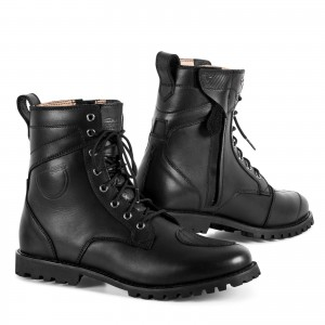 SHIMA THOMSON BLACK LEATHER BOOTS