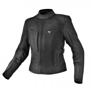 SHIMA JACKET VOLANTE WOMAN BLACK