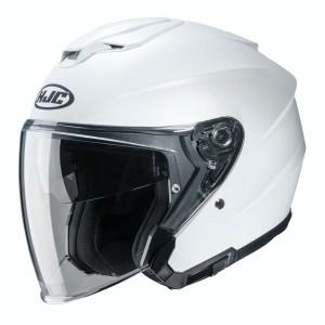 HJC i30 SEMI FLAT PEARL WHITE