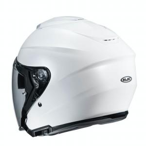 HJC i30 PEARL WHITE